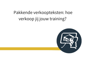 verkoopteksten online training