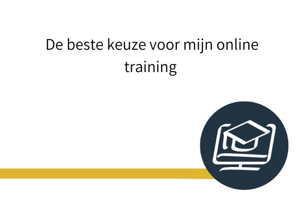 beste keuze online training